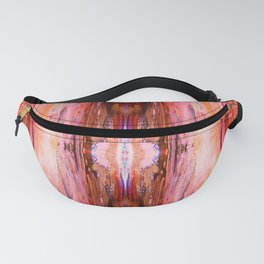 Abstract Blush Pattern Fanny Pack