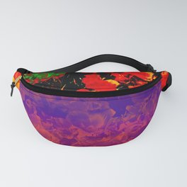 Poppies Collage 2 Fanny Pack