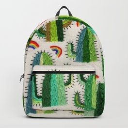 Cacti and Rainbows Backpack