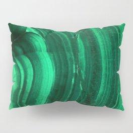 Malachite Texture Pillow Sham