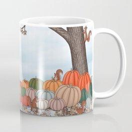 heirloom pumpkins, squirrels, & the oak tree Coffee Mug