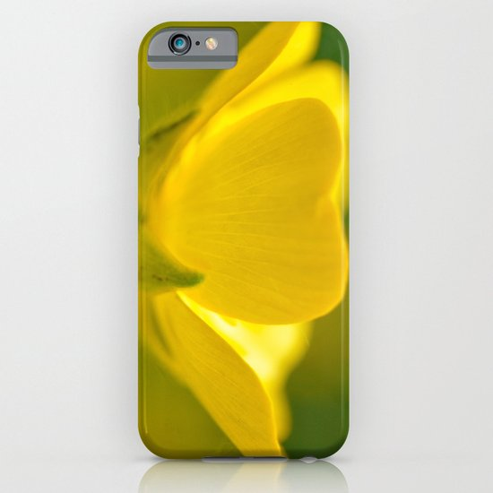 Bright Yellow Bloom iPhone & iPod Case