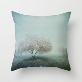 Blurred Hope Throw Pillow