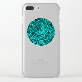 Flotsam & Jetsam II (Teal) Clear iPhone Case