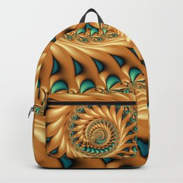 Fractal Splendor, Modern 3D Art Backpack