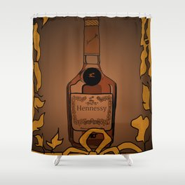 Classic Henny Shower Curtain