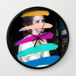 Composition 711 Wall Clock