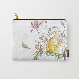 Hydra de Flora Carry-All Pouch