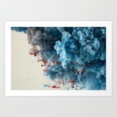 Collision I Art Print