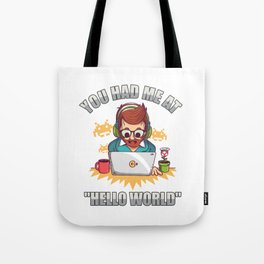 Programming Exercises Gifts Tote Bag