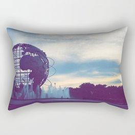 Walking Forward Rectangular Pillow
