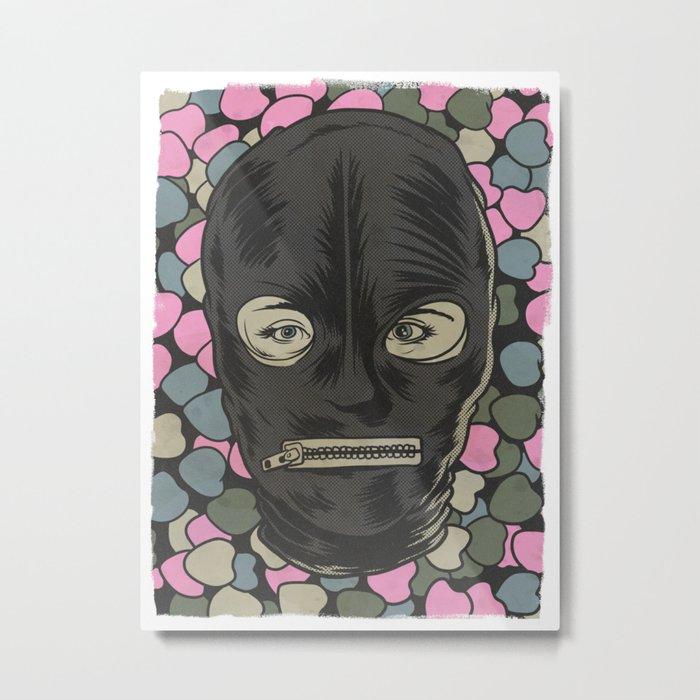 Fifty Shades of Bae Metal Print