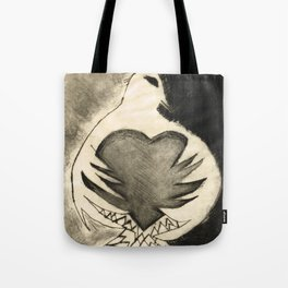 White Dove Art - Comfort - By Sharon Cummings Tote Bag