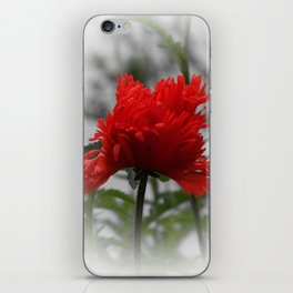 poppy -3- iPhone Skin