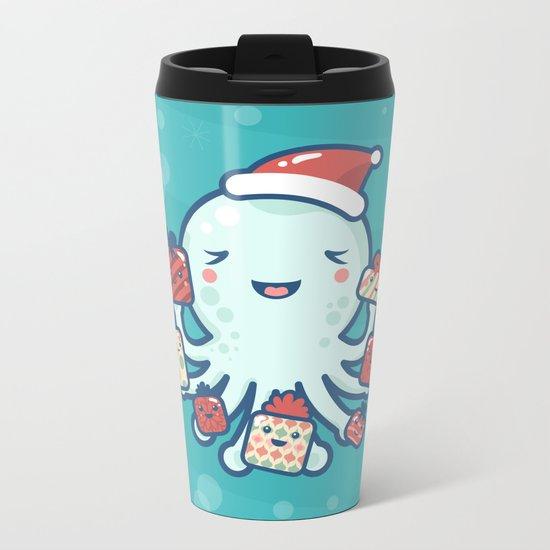 The Gift Giver Metal Travel Mug