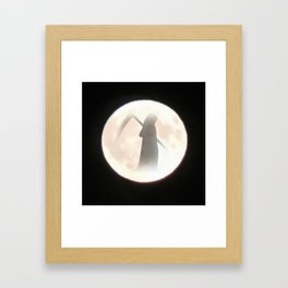 Grim Reaper Moon Framed Art Print
