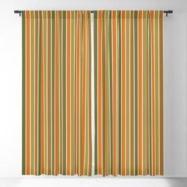 FALL STRIPE Blackout Curtain