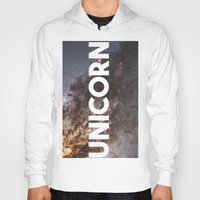 the last unicorn Hoodies featuring Unicorn by eARTh