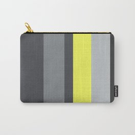 black and yellow Carry-All Pouch