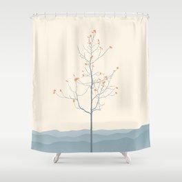 Twig Tree - Serenity Shower Curtain