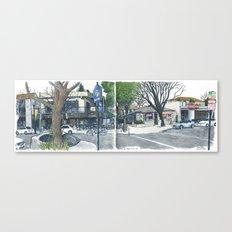 E Street Davis panorama Canvas Print