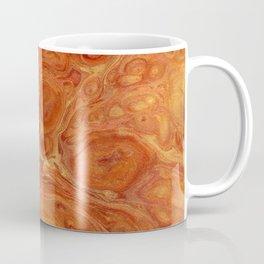 Burnt Orange Fire Lava Flow Coffee Mug