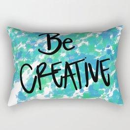 Just Be! Rectangular Pillow