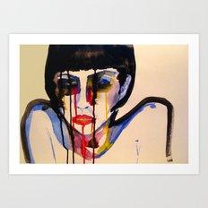 BL INK 3 Art Print
