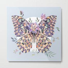 Watercolor Butterfly #68 Metal Print