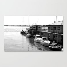 Corrientes Harbour Canvas Print