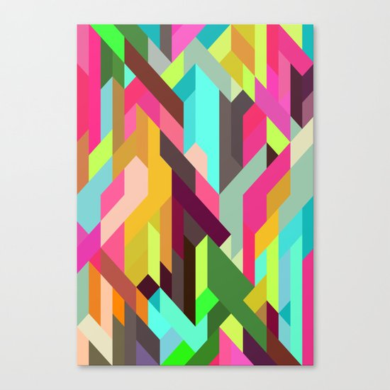 City 04 Canvas Print By Three Of The Possessed Society6