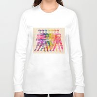elvis presley Long Sleeve T-shirts featuring Elvis Presley by manish mansinh