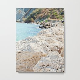 Greece costline Metal Print