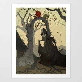 Arcane Apparition Art Print