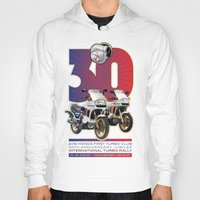 honda Hoodies featuring Honda First Turbo Club by Saddle Bums