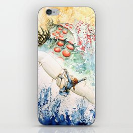 """The flying princess"" iPhone Skin"