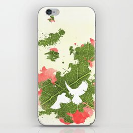 Leaf Bird iPhone Skin