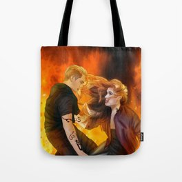 Clace heavenly fire Tote Bag