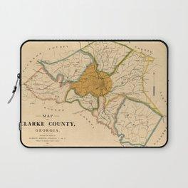 Map Of Athens Georgia 1893 Laptop Sleeve