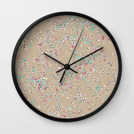 Scattered and Splattered Wall Clock