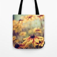 sunshine Tote Bags featuring sunshine by shannonblue