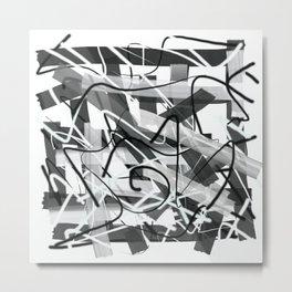 Patch Metal Print