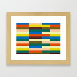 kilim Autumn Colors Framed Art Print