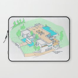 house by tereza del pilar Laptop Sleeve