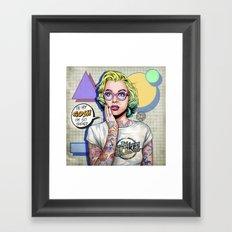 Oh my Gosh, Marilyn Framed Art Print