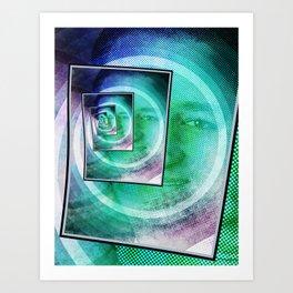 Ted Cruz Pop Art Art Print