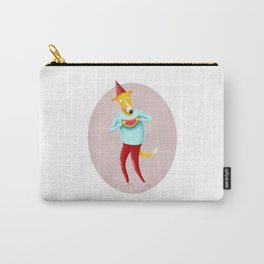 Dog with Watermelon | Illustration Carry-All Pouch