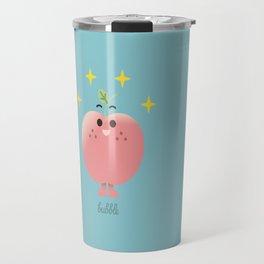Happy Apple  Travel Mug