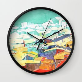 Summer in Malcesine Wall Clock