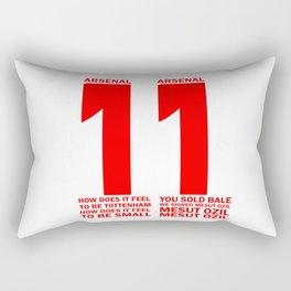 Mesut Ozil Chant Rectangular Pillow